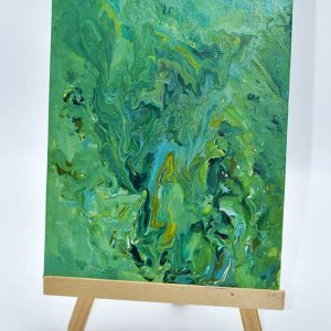 Crazy Green Painting