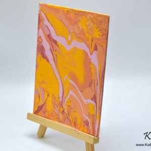 Orange Sorbet Painting